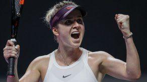 Svitolina avanza a las semifinales de las Finales WTA