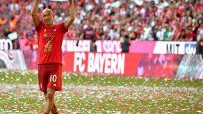 Arjen Robben pone punto final a su carrera