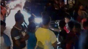 Denuncian que policías mataron a un perro con gas pimienta en Mano de Piedra
