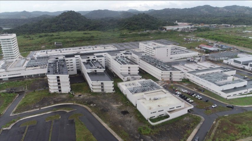 La Ciudad de la Salud o Ciudad Hospitalaria es un conjunto de edificios diseñados originalmente para albergar 43 quirófanos