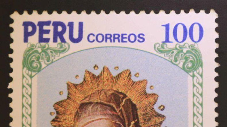 Las tres vírgenes indígenas de los sellos navideños de Perú