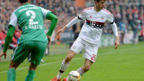 El líder Bayern sigue con pleno de victorias gracias a Müller