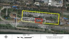 Desde este lunes cerrarán estacionamientos de la Cinta Costera por trabajos de saneamiento