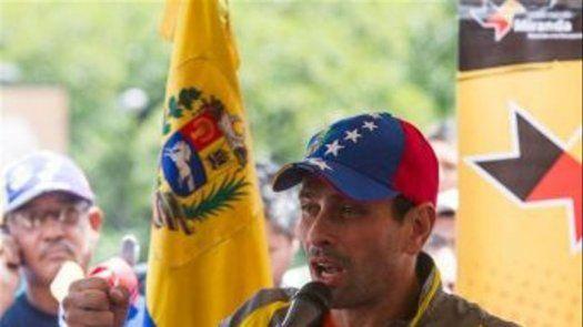 Capriles: ya el mundo entero sabe de la ilegitimidad de Maduro