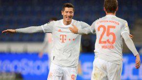 El Bayern sigue su escalada de la mano de su dupla Müller-Lewandowski