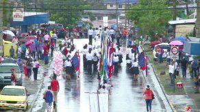 Con parador fotográfico y desfile cultural celebran los 47 años del distrito de San Miguelito