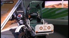 Inventos que salvan vidas: motocicleta se convierte en ambulancia