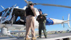 Paramédicos acompañan a la Patrulla Fronteriza