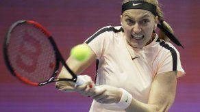 Kvitova da a República Checa pase a semis en Copa Federación