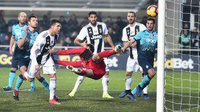 Ronaldo rescata empate de la Juventus ante el Atalanta