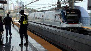 Se reporta incidencia y detención en la Línea 1 del Metro de Panamá