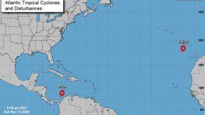 La tormenta Iota continúa su desplazamiento hacia Centroamérica