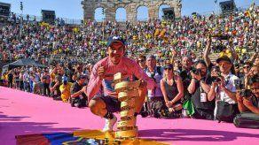 Ecuatoriano Carapaz conquista el Giro de Italia