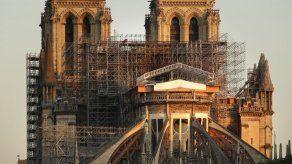 Macron confirma objetivo de reconstruir Notre Dame en cinco años