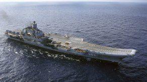 Gran Bretaña vigila paso portaviones ruso por Canal de la Mancha