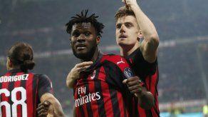 Piatek anota de nuevo y Milan golea a Empoli en la Serie A
