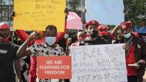 Uganda: 37 fallecidos en protestas por arresto de opositor