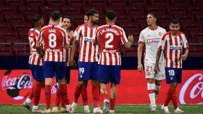 El Atlético sigue en racha al ganar al Mallorca con doblete de Morata