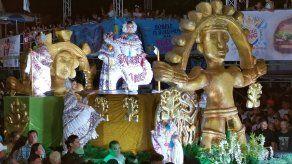Domingo típico en el Carnaval de Chitré 2020
