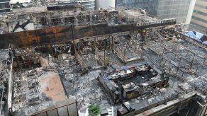 Al menos 14 muertos en el incendio de un restaurante en Bombay