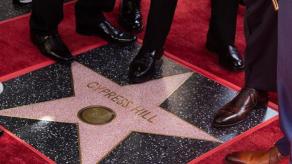 Cypress Hill desvela su estrella en el Paseo de la Fama de Hollywood