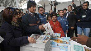 Bolivia convierte en una editorial el lugar de una agencia de EEUU expulsada