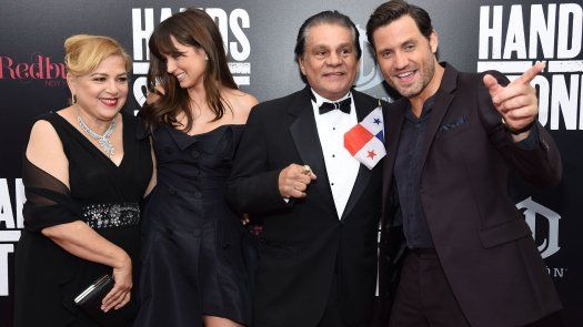 Premiere de Hands of Stone en NY