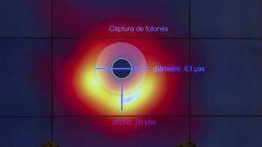 Científicos desvelan la primera imagen de un agujero negro