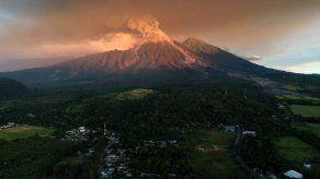 Disminuye actividad del volcán de Fuego de Guatemala