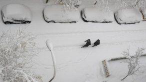 Tormenta de nieve tiñe España de blanco
