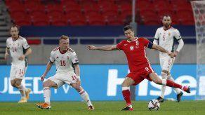 Lewandowski fuera por lesión del Inglaterra-Polonia