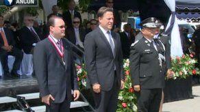 Omar Pinzón toma el mando de la Policía Nacional