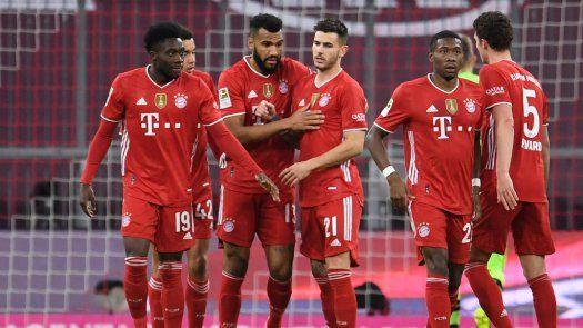 Bayern se corona en la Bundesliga por noveno año consecutivo