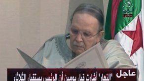 Incertidumbre en Argelia tras renuncia de Bouteflika