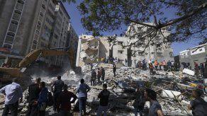 Desde el lunes, los grupos armados del enclave palestino, incluidos Hamás y la Yihad Islámica, dispararon unos 3.000 cohetes.