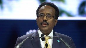 El presidente de Somalia, Mohamed Abdullahi Mohamed Farmaajo.