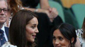 Catalina y Meghan resumen en un solo gesto su nueva cercanía