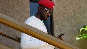 Opositor y cantante Bobi Wine