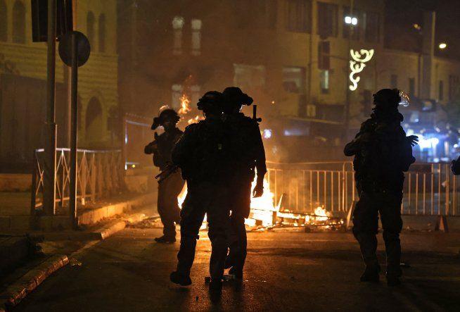 Nueva noche de violencia en Jerusalén