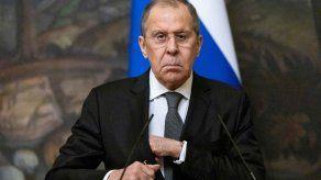Serguéi Lavrov, jefe de la diplomacia de Rusia.