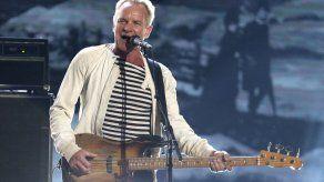 "Sting ""un poco asustado"" pero listo para residencia en Vegas"
