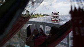 Paseo en barco por el Amazonas atrae el turismo