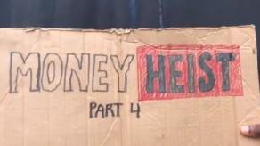 Tres adolescentes nigerianos graban un remake viral de La casa de papel