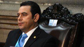 Presidente de Guatemala está dispuesto a que lo investiguen tras su mandato