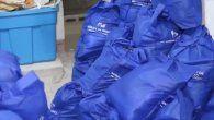 Durante una diligencia de allanamiento, funcionarios de la Fiscalía Anticorrupción encontraron gran cantidad de bolsas de comida del Plan Panamá Solidario en una residencia en San Francisco.