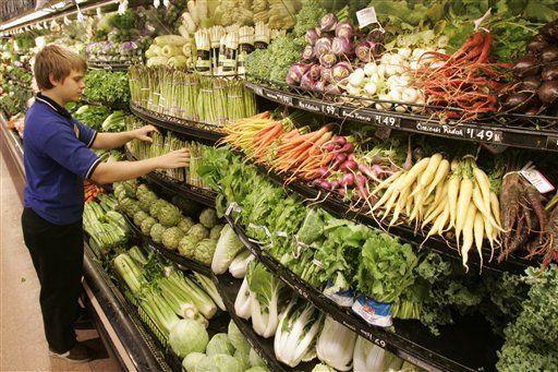 Estadounidenses preocupados por contaminación de alimentos