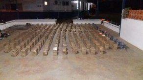 Incautan mil 200 paquetes de droga en Chiriquí