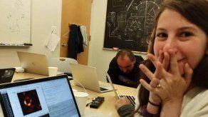 Katie Bouman salta a la fama tras idear el algoritmo para ver un agujero negro