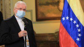 Nicolás Maduro presidió un acto de despedida de Aldo Giordano como Nuncio Apostólico de Venezuela.