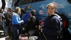Ingreso masivo y ordenado de venezolanos a Ecuador en el último día sin visa